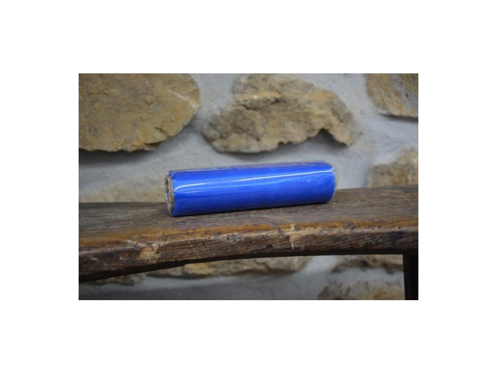 Organza na špulce hladká 0,15 x 9m modrá tmavá