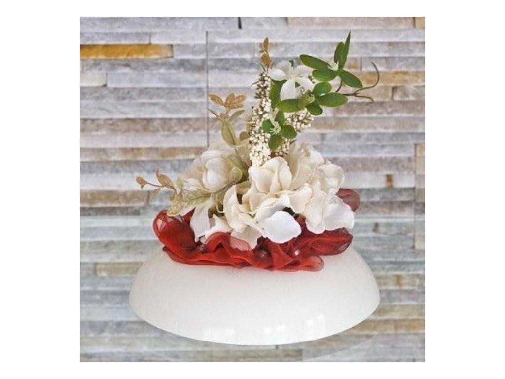 Don-plast Aranžovací nádoba Ikebana 2, krémová