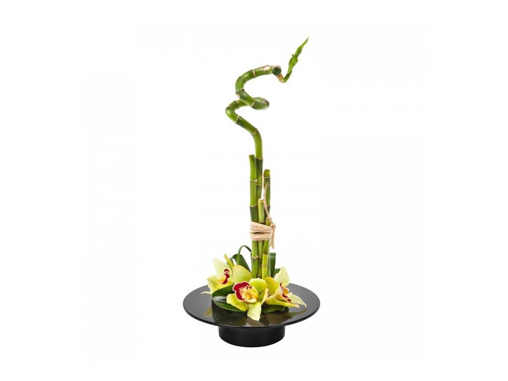 Lamela Aranžovací miska Ikebana 190 černá