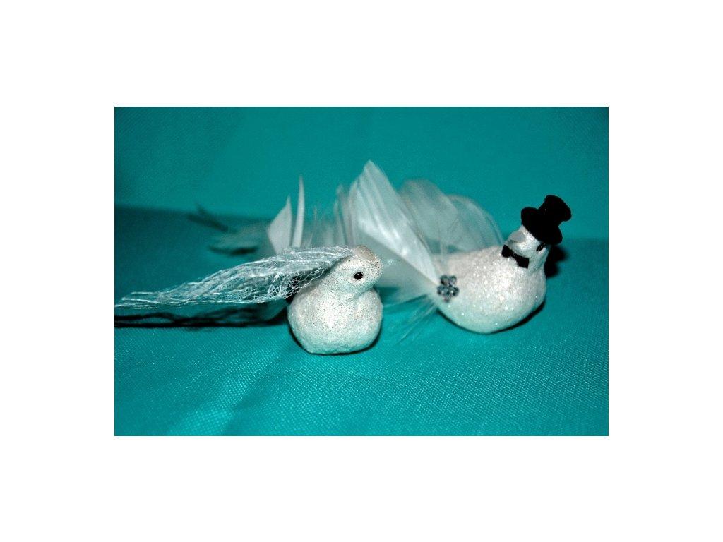 CERINO Svatební ptáčci pár - 7cm