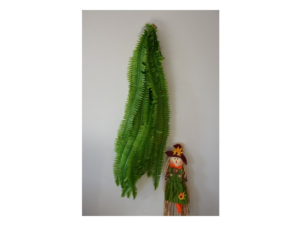 CERINO Umělá rostlina Kapradí list 127cm