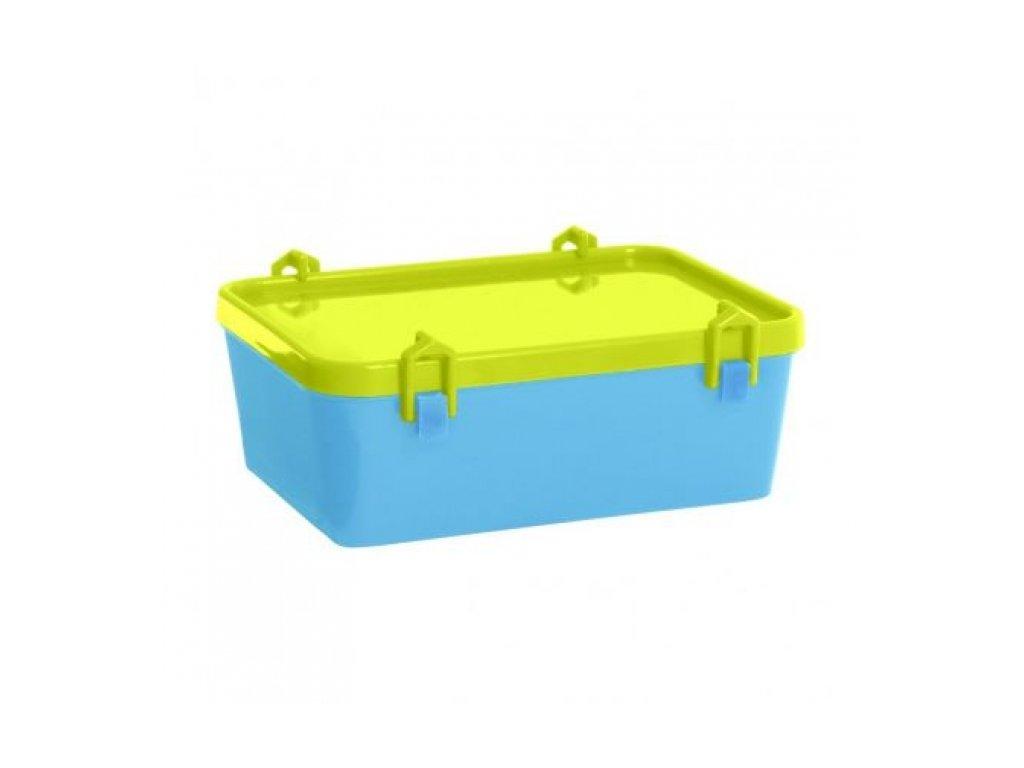 Dětský box na potraviny Katrine 1,0L, modrý