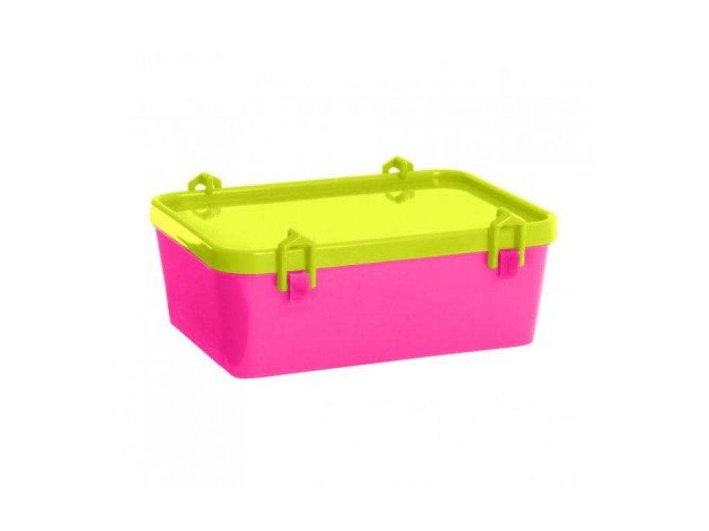 Dětský box na potraviny Katrine 1,0L, růžová