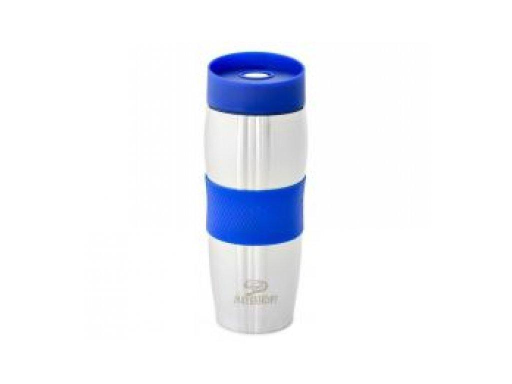 Termoska kovová 380ml modrá