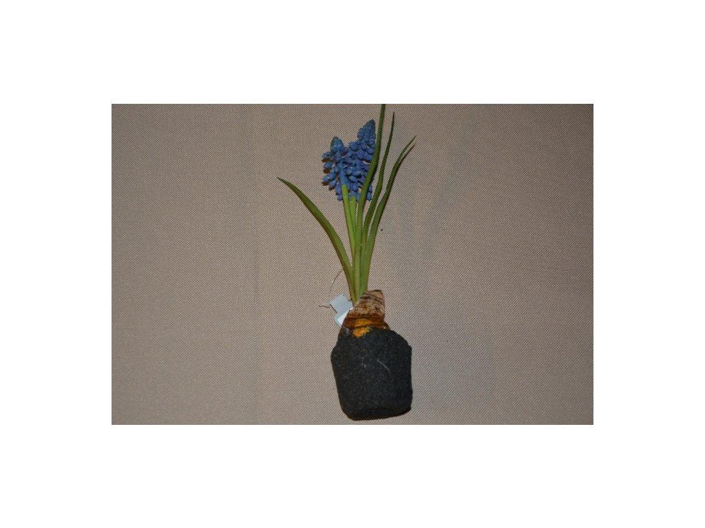CERINO Umělá květina Modřenec 22cm 1ks