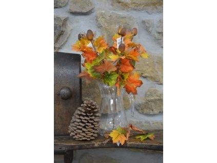 CERINO Podzimní větvička žalud 45cm