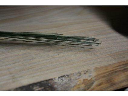 CERINO Aranžovací drátek průměr 1ks 0,5mm 40cm zelený
