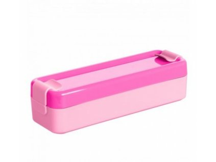 Hilo dětský box na potraviny 430ml růžový