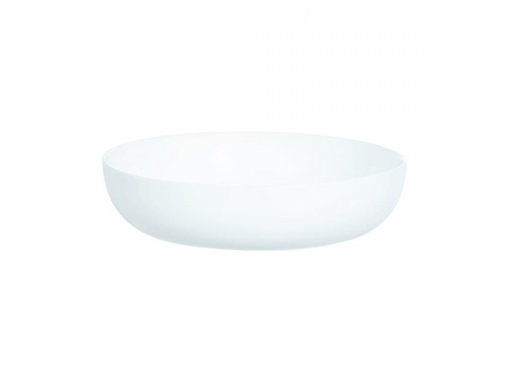 FRIENDS´TIME talíř na kuskus bílý 21 cm 6 ks
