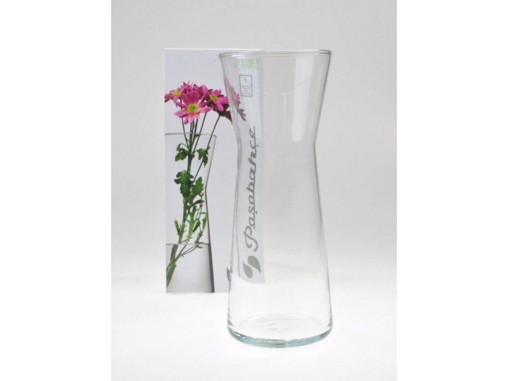 FLORA Váza X 26 cm čirá