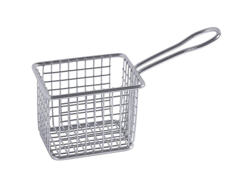 NEREZ Fritovací košík, hranatý