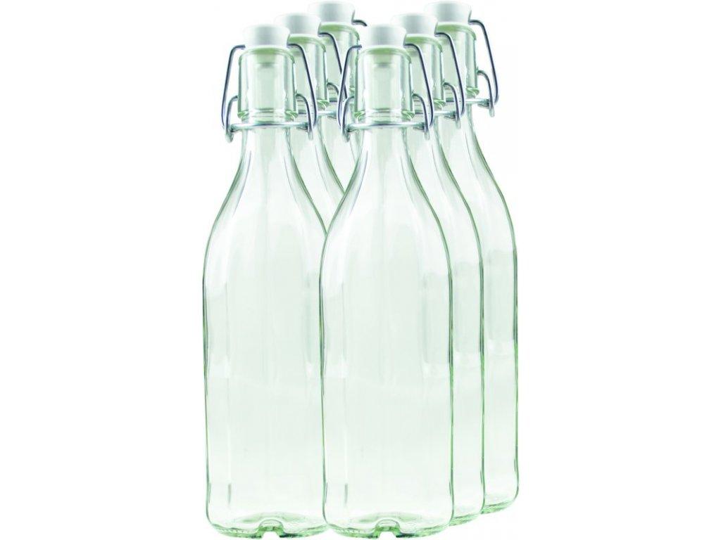 BÜGEL Zavařovací lahev 0.5 l s uzávěrem 10-hran