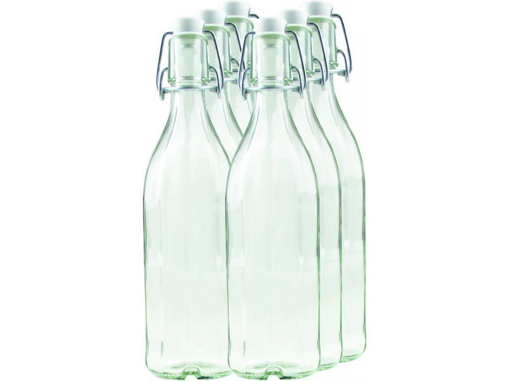 BÜGEL Zavařovací lahev 0.75 l s uzávěrem 10-hran