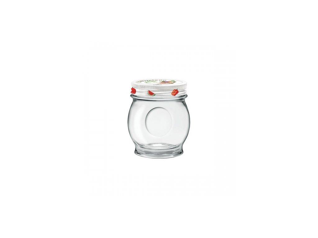 ORTOLANO Zavařovací sklenice 31 cl šroubovací víčk
