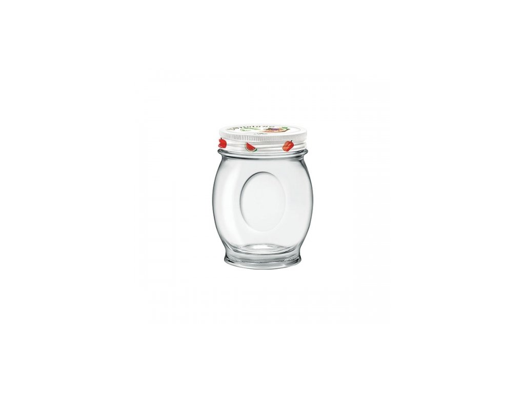 ORTOLANO Zavařovací sklenice 39 cl šroubovací víčk