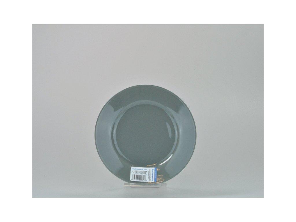 Talíř desertní 20 cm, šedá