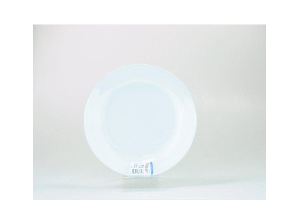 Talíř plochý 26 cm, bílá