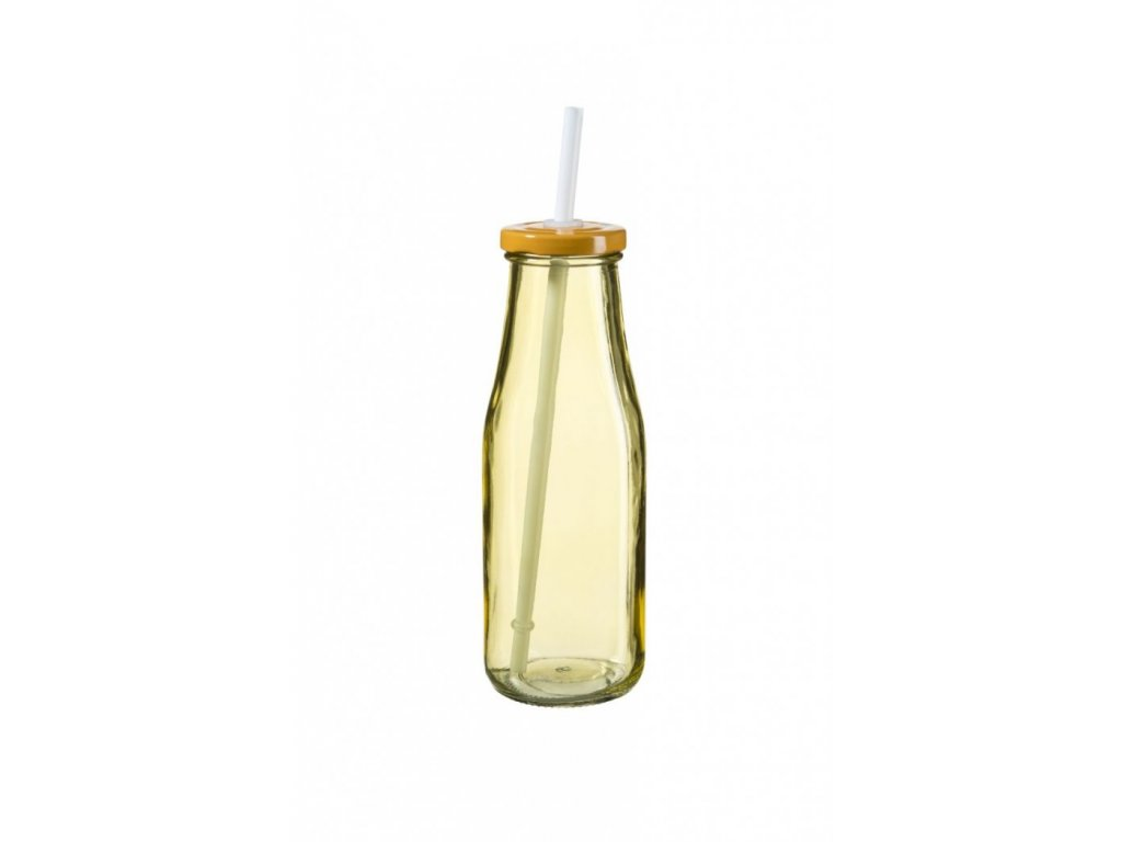 SUMMER FUN II lahev 44 cl oranžová, oranžové víčko
