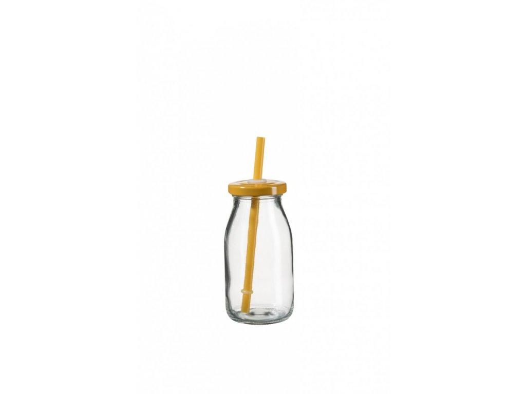 SUMMER FUN II lahev na smoothie 11,5 cm, oranžové