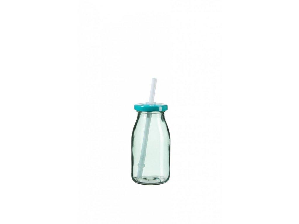 SUMMER FUN II lahev na smoothie 11,5 cm tyrkys., t