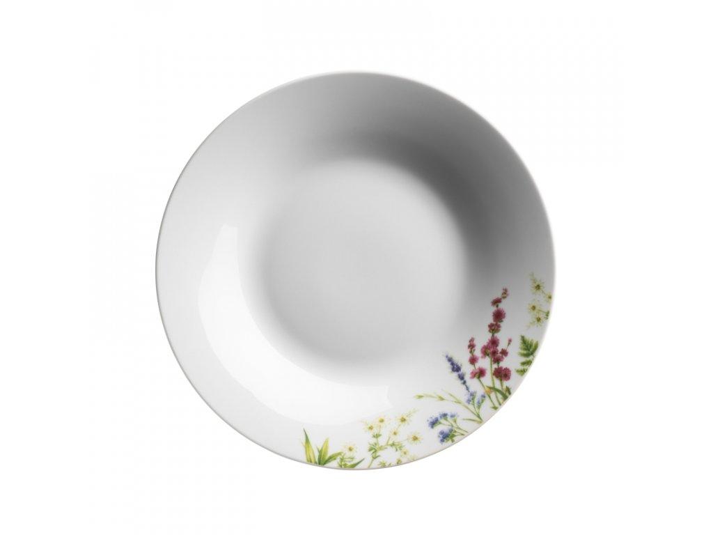 HERBAL GARDEN talíř hluboký 23 cm