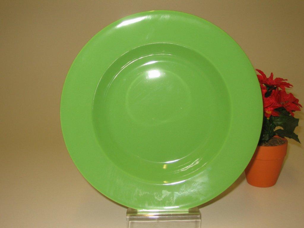 EUROPA Talíř zelený  22 cm