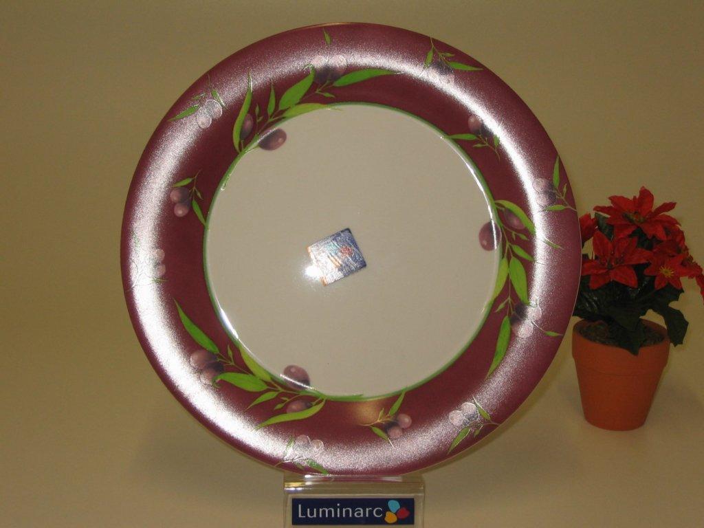 OLIVAIE Talíř plochý 27 cm dekor