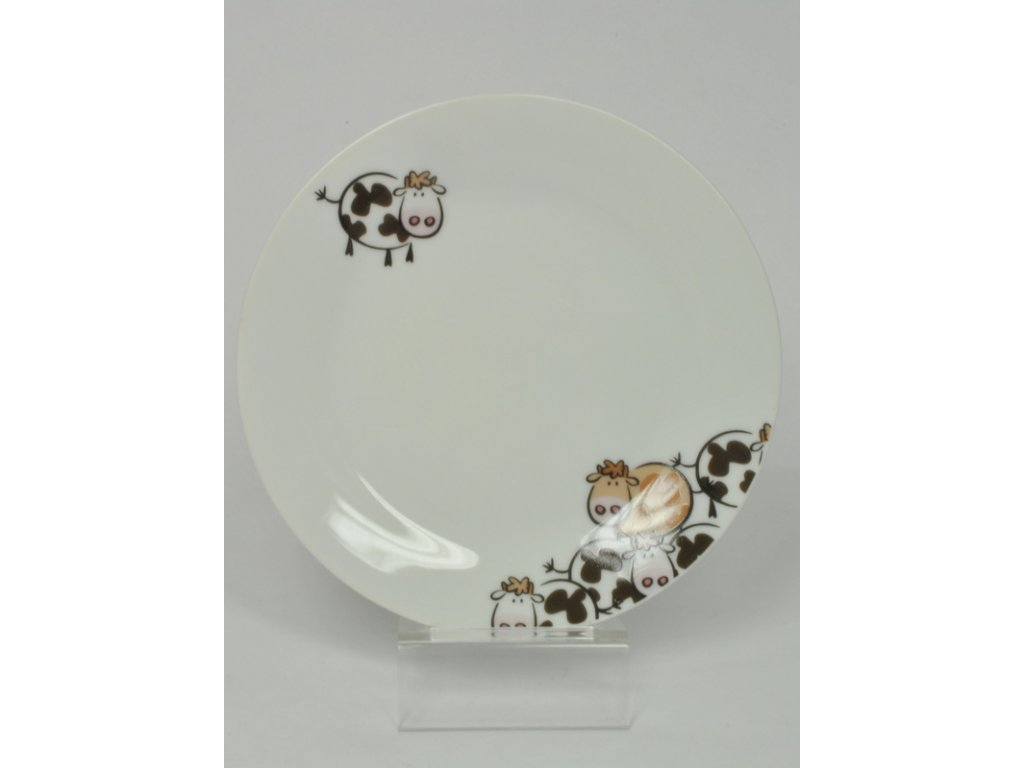 BROWN COW talíř desertní 19 cm