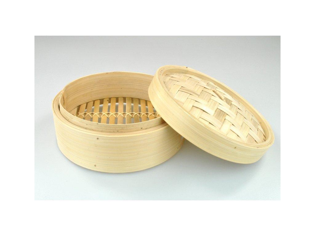 OSTATNÍ Pařáček,bambus,20 cm průměr,výška 9 cm