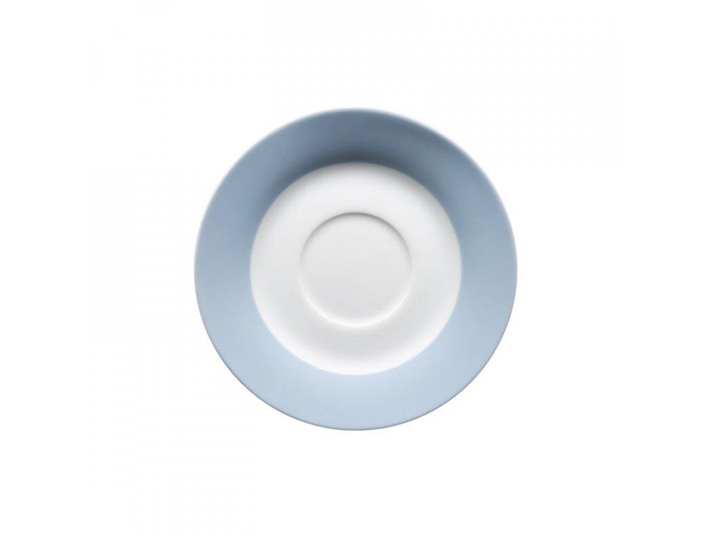 KITCHEN TIME podšálek káva 14,5 cm modrý