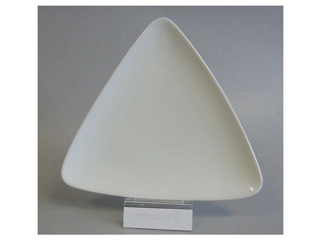 SCENA Plato trojúhelník 23 cm