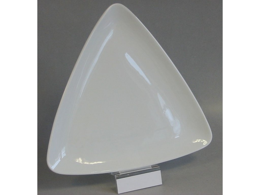 SCENA Plato trojúhelník 28 cm
