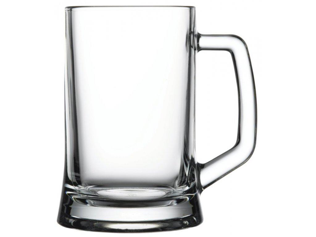 PUB pivní sklo čiré 67 cl po okraj