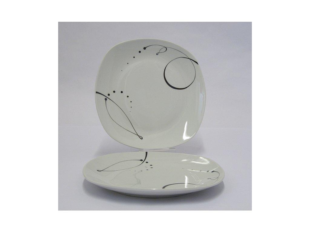 CHANSON talíř plochý 25 cm