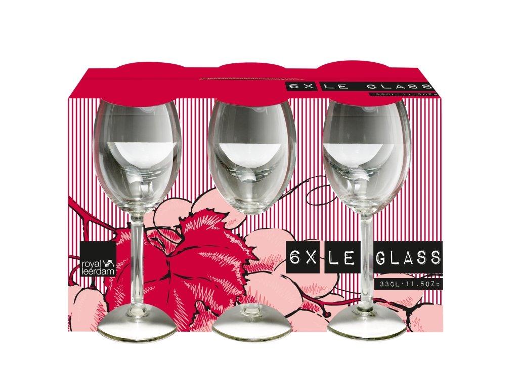LE GLASS Kalíšek víno 33 cl
