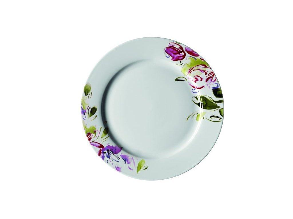 CLASICO FLORAL talíř desertní 20,5 cm