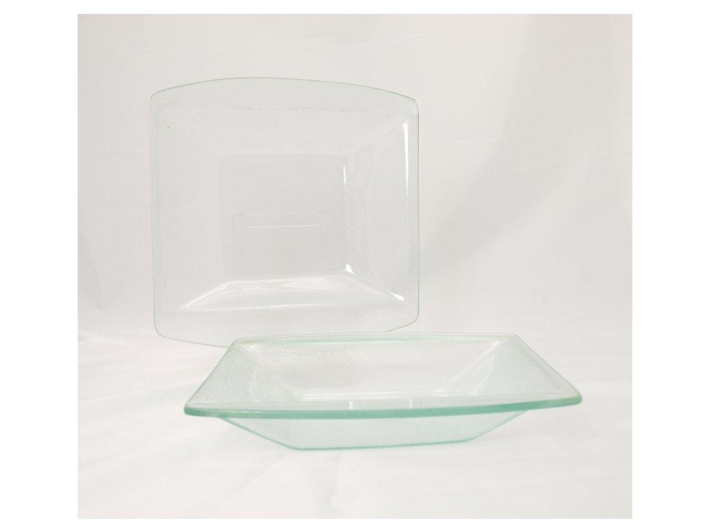 PURA GLASS Miska 20x20 cm