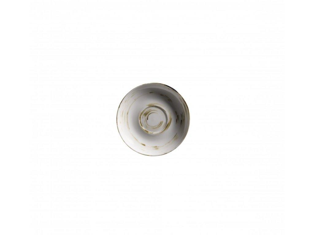 DERBY podšálek krémový 14 cm