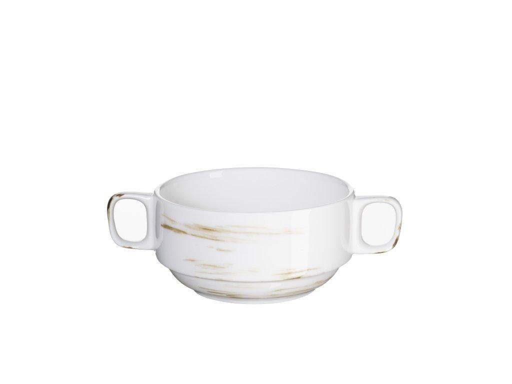 DERBY miska na polévku krémová 27 cl