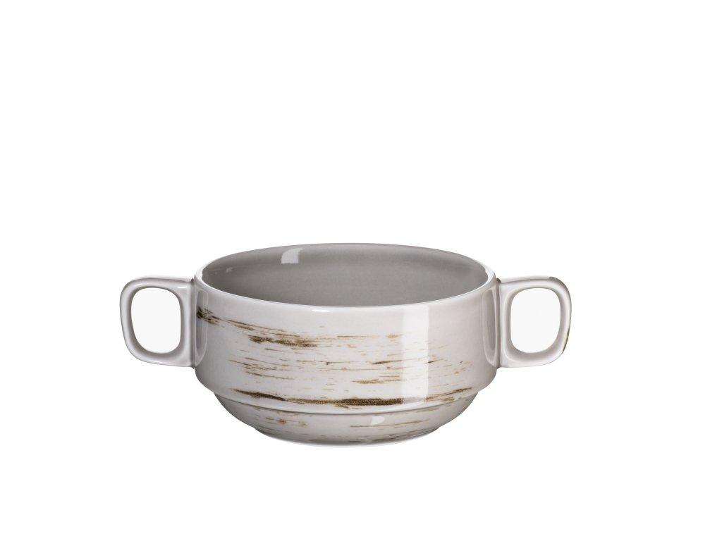 DERBY miska na polévku béžová 27 cl