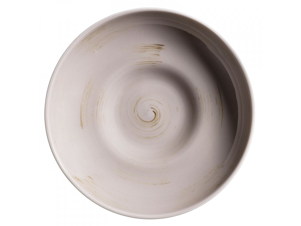 DERBY talíř hluboký béžový 22 cm