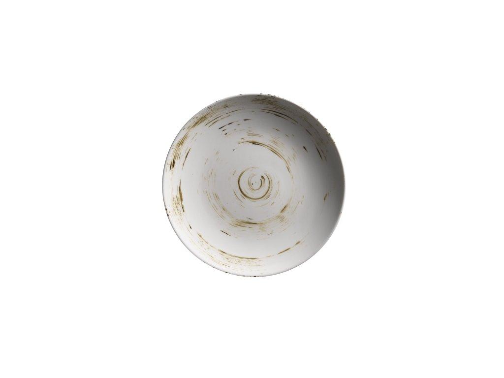 DERBY talíř desertní kulatý krémový 22,7 cm