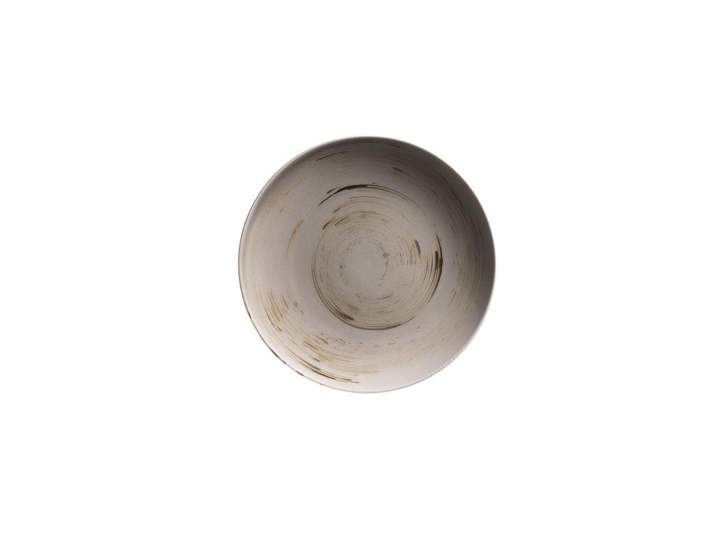 DERBY talíř desertní kulatý béžový 22,7 cm