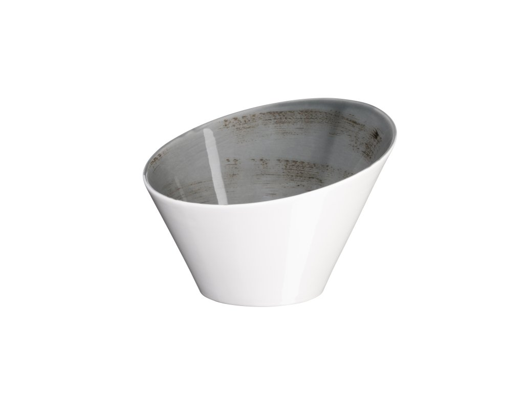 DERBY mísa kónická tm. šedá 22x22x14,8 cm