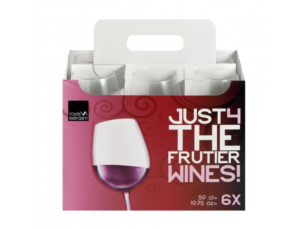 JUST4 Kalíšek víno 59 cl