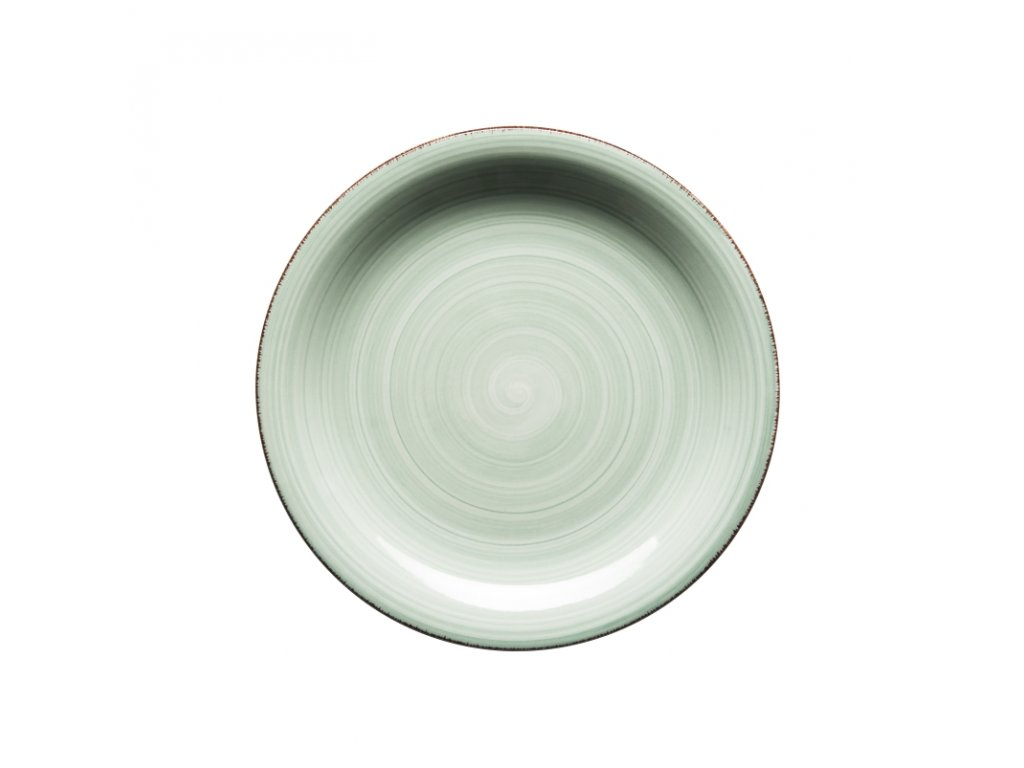 BEL TEMPO talíř desertní 19,5 cm sv. zelený