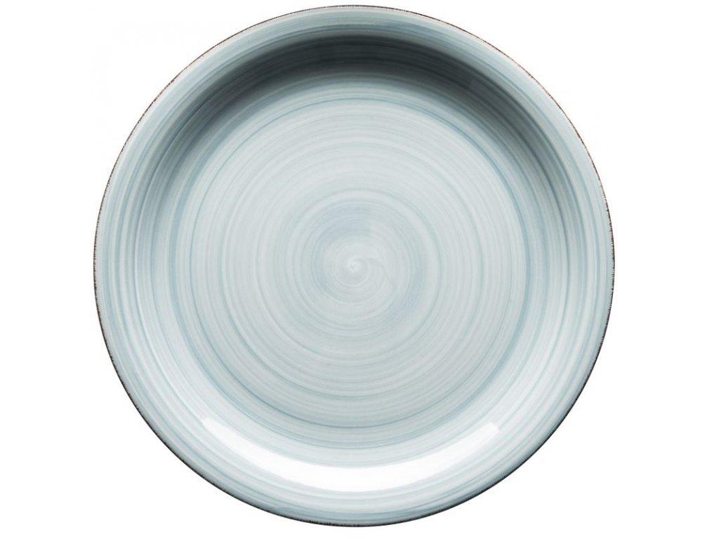 BEL TEMPO talíř plochý 27 cm sv. modrý