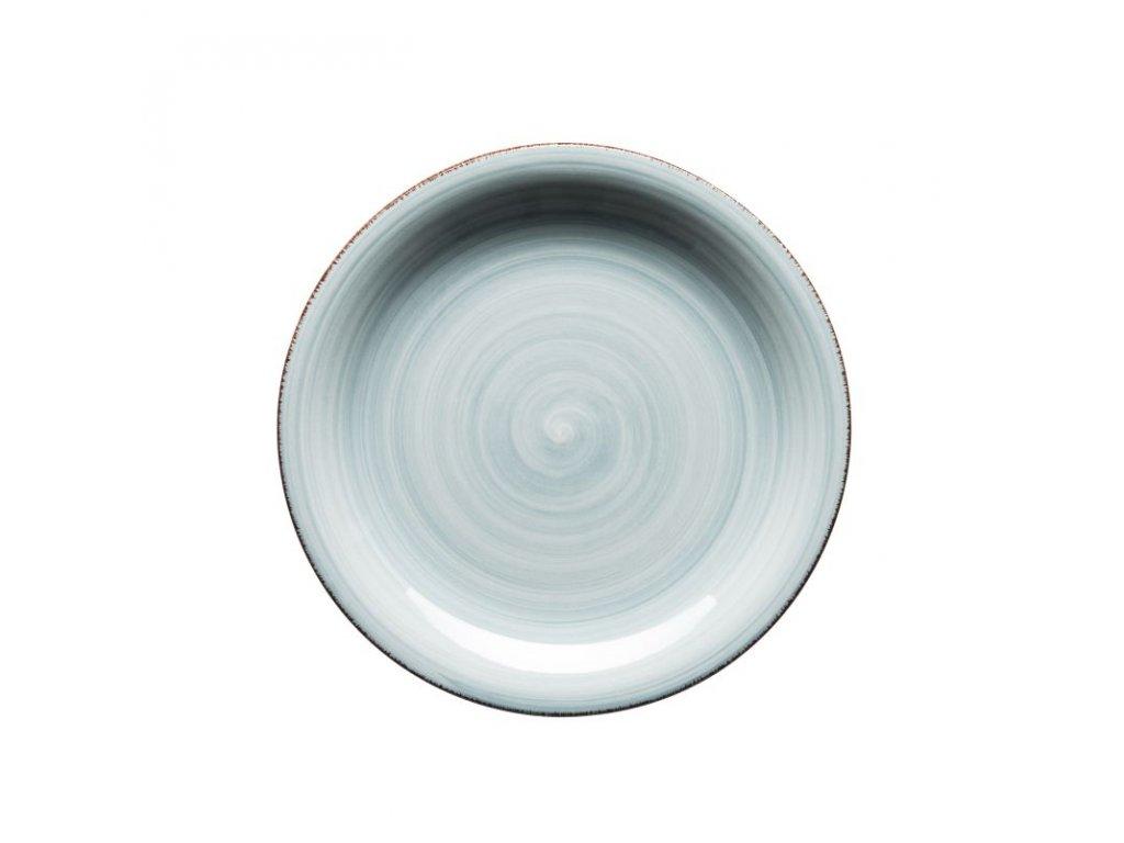 BEL TEMPO talíř desertní 19,5 cm sv. modrý