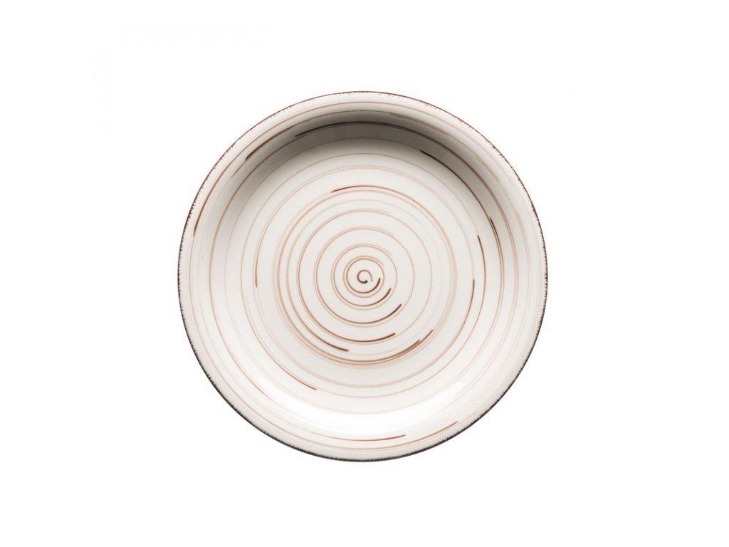 BEL TEMPO talíř desertní 19,5 cm béžový
