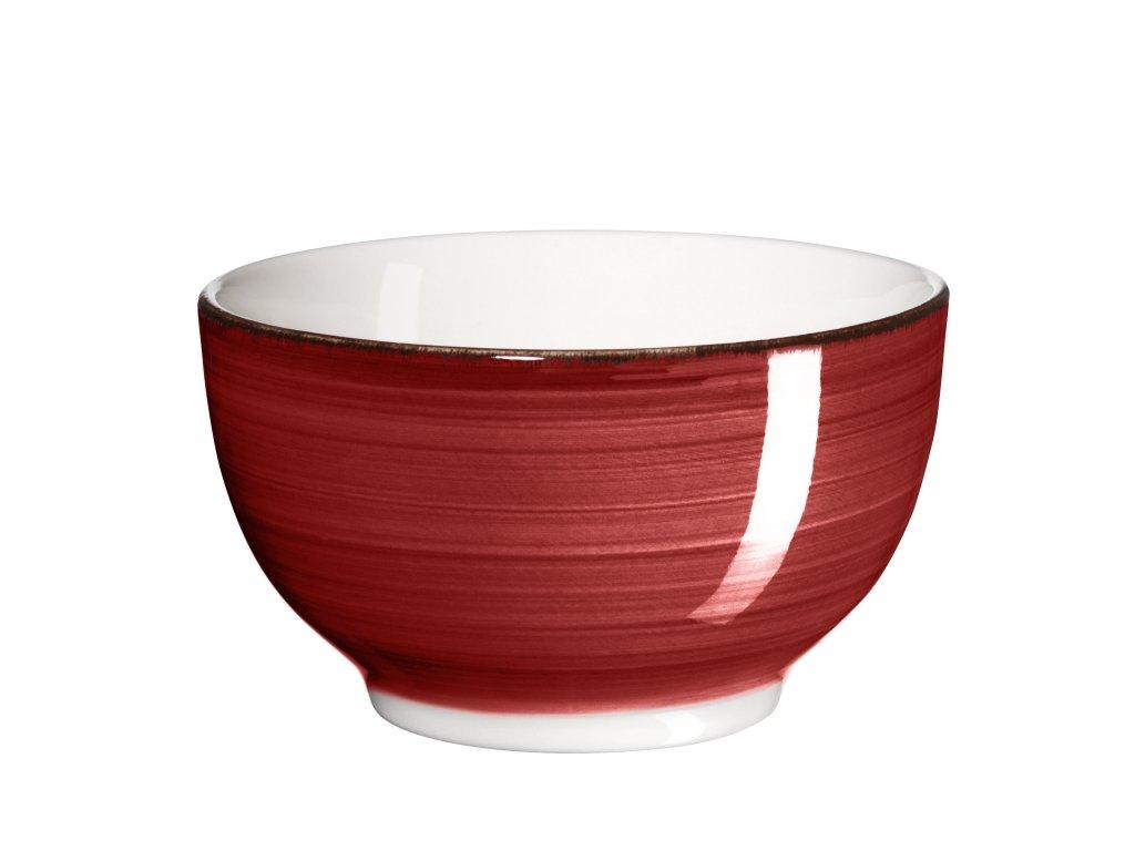 BEL TEMPO miska na müsli 14 cm červená